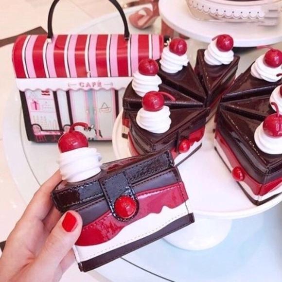 6706af24eb95 kate spade Bags | Ma Cherie Cake Slice Coin Purse Nwt | Poshmark